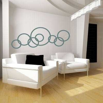 decorating-walls-with-circles
