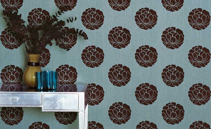 Flower-Modern-Wallpaper-Interior-Design-Image