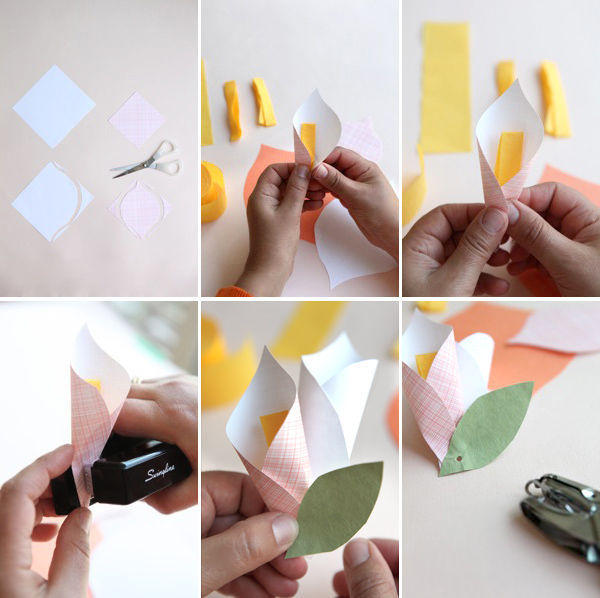 Как сделать легко из бумаги подарок
