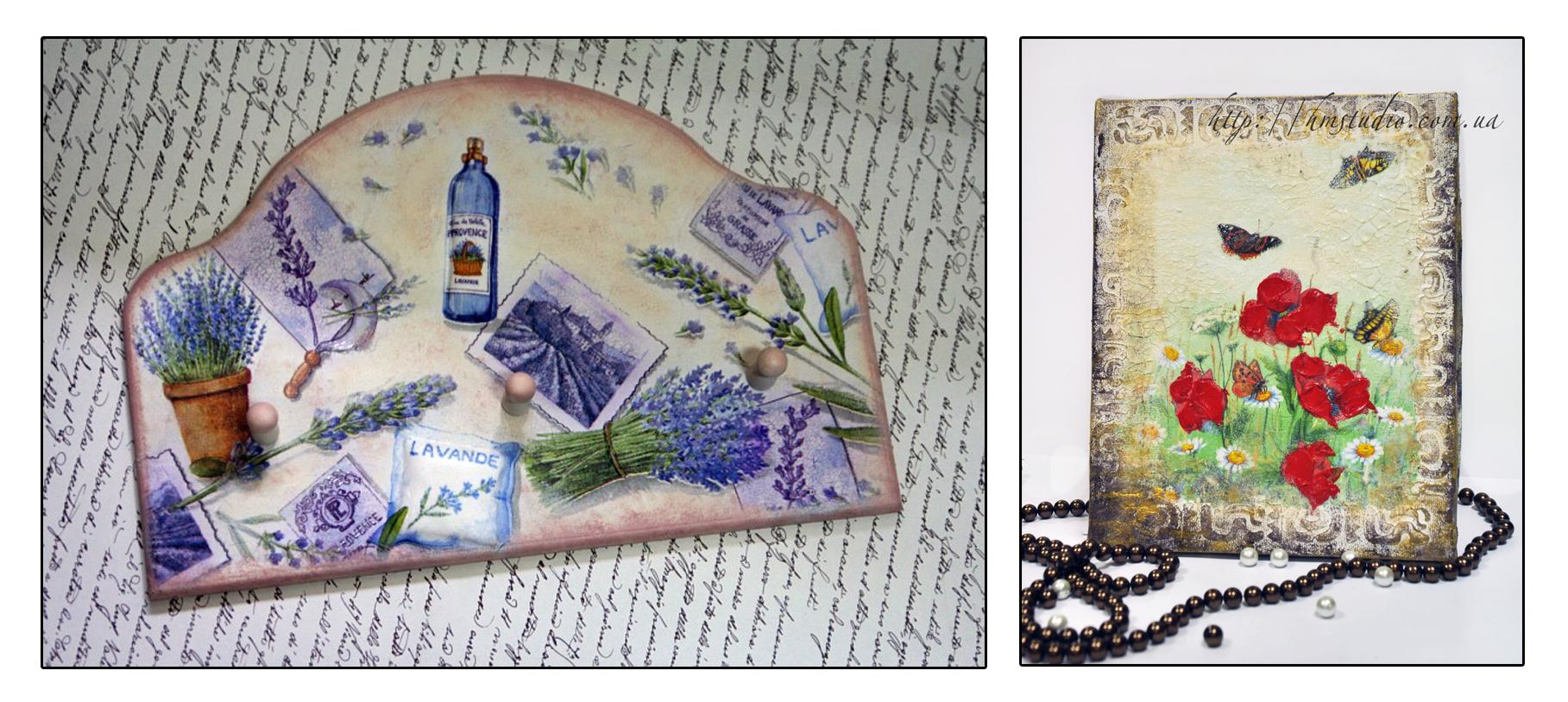 Картинки для декупажа домики с лавандой стенка стенку