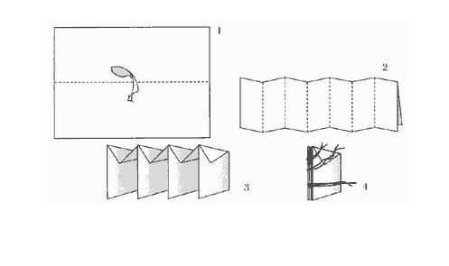 складывание ткани