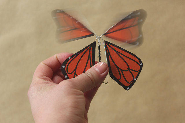 бабочка своими руками из пенопласта