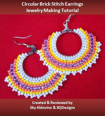 Circular-Brick-Stitch-Earrings-Jewelry-Making-Tuto