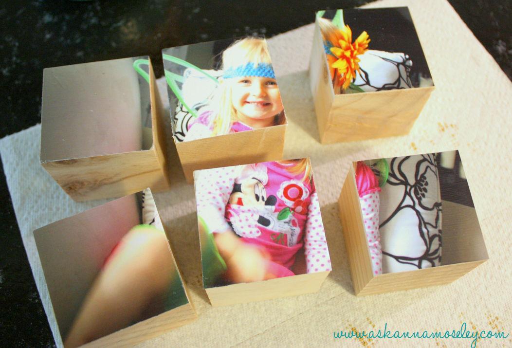 Фото на кубиках своими руками 49