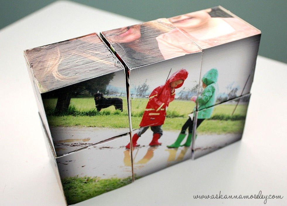 Кубик фотографиями своими руками