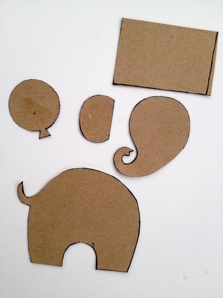Добрым утром, открытка со слоном и шариками своими руками