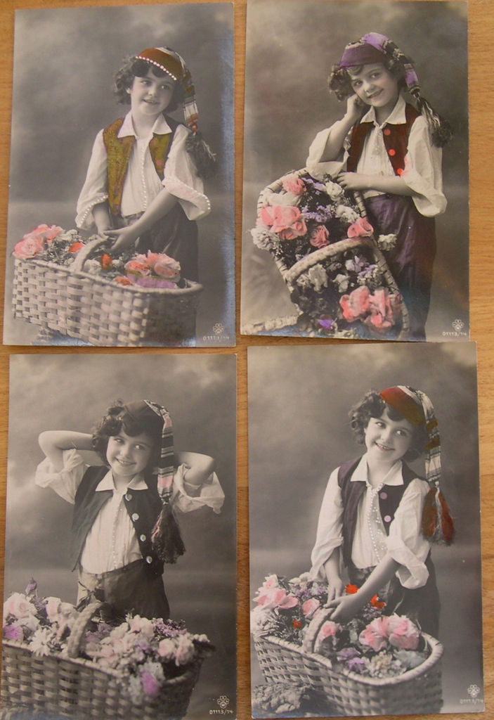 Винтажные открытки для вдохновения и творчества. 42572