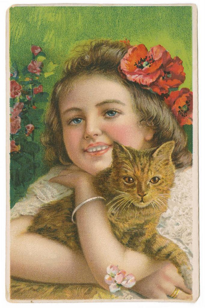 Винтажные открытки для вдохновения и творчества. 98315