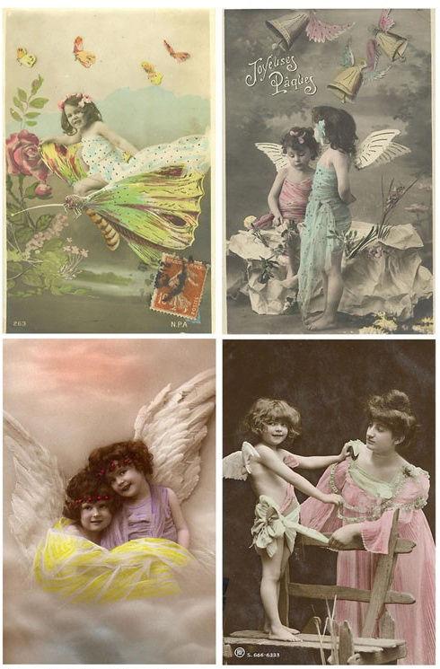 Винтажные открытки для вдохновения и творчества. 53349