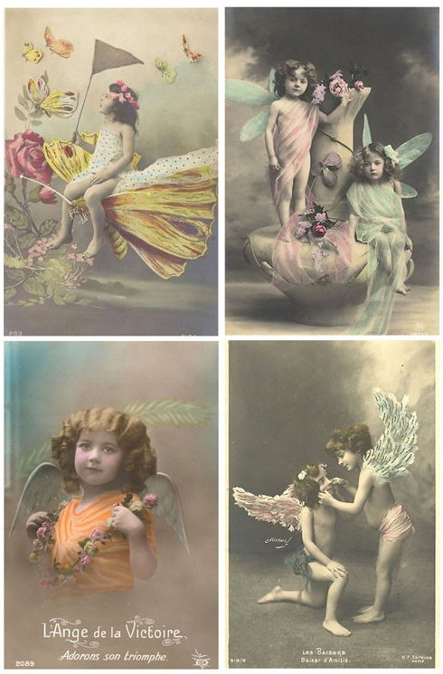 Винтажные открытки для вдохновения и творчества. 49641