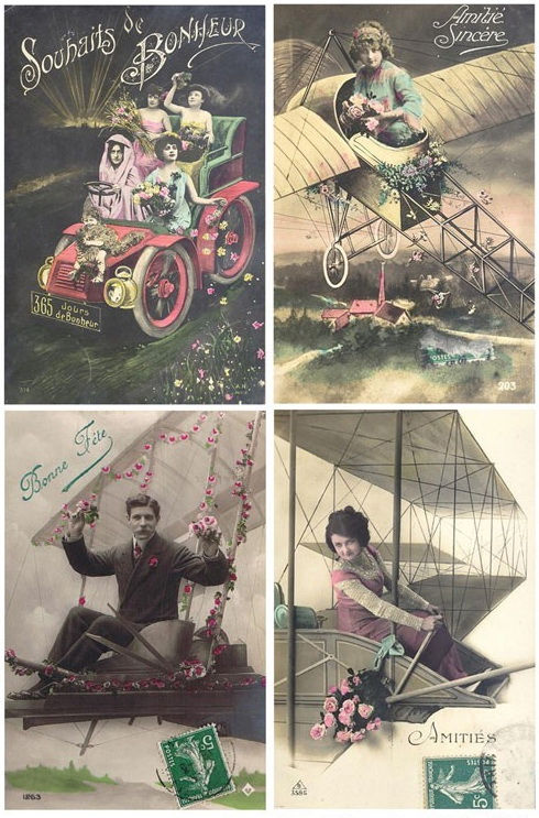 Винтажные открытки для вдохновения и творчества. 40635