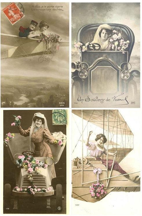 Винтажные открытки для вдохновения и творчества. 55448