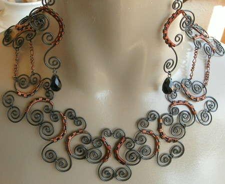 steel wire jewelry 1