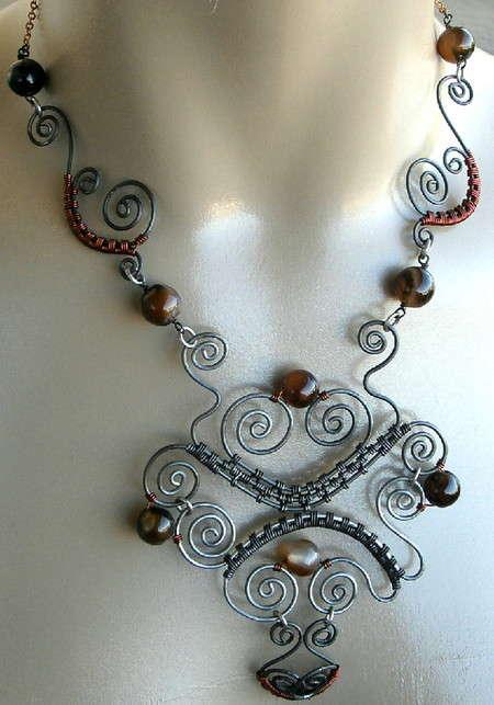steel wire jewelry 2