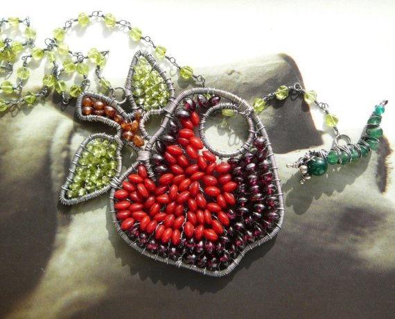 wire work jewelry apple