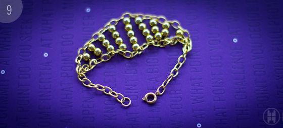 Видео как своими руками сделать цепочку из проволоки