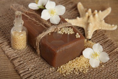 10015687-bar-of-natural-handmade-soap-spa