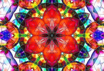 9156393-abstract-stained-glass-design