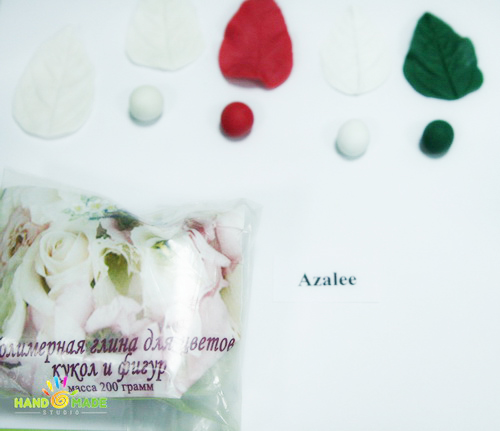 Azalie – не очень известная самозастывающая  полимерная глина
