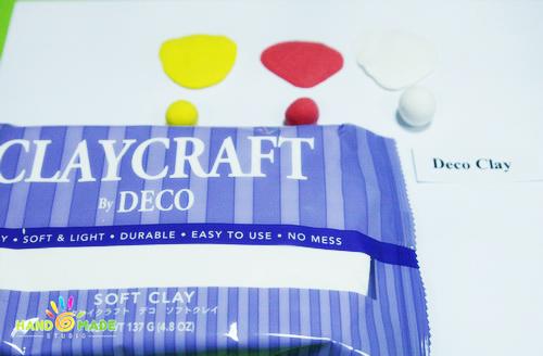 Deco – самая популярная полимерная глина из «зефирок».