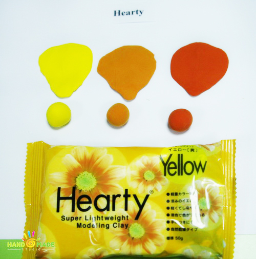 Hearty – самозастывающая полимерная глина