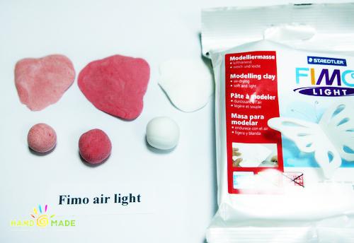 Fimo Airlight – доступная самозатвердевающая полимерная глина.