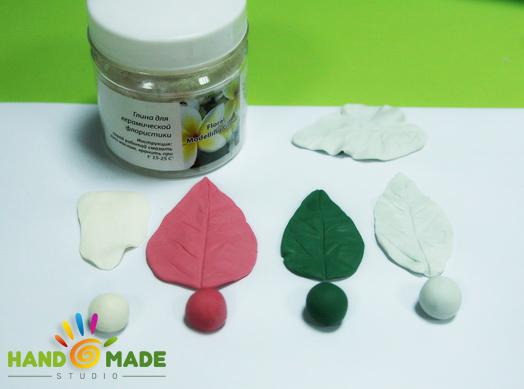 флористическая глина Floral modelling