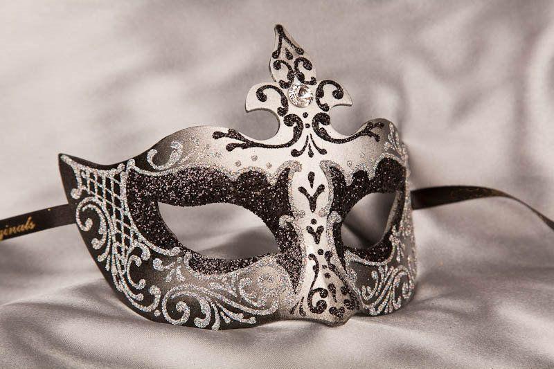black_silver_venetian_masks_FARF32S0