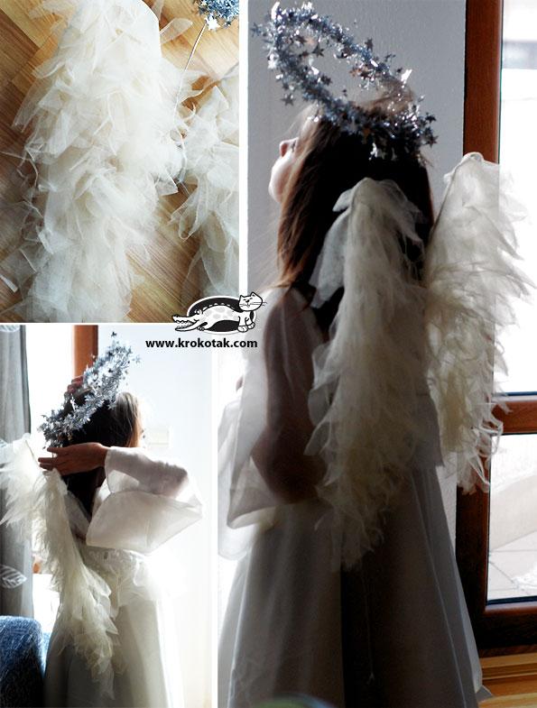 Как сделать нимб на ангеле