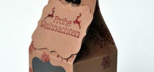 Geschenkverpackung — Frohe Weihnachten 1