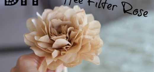 DIY-coffee-filter-rose
