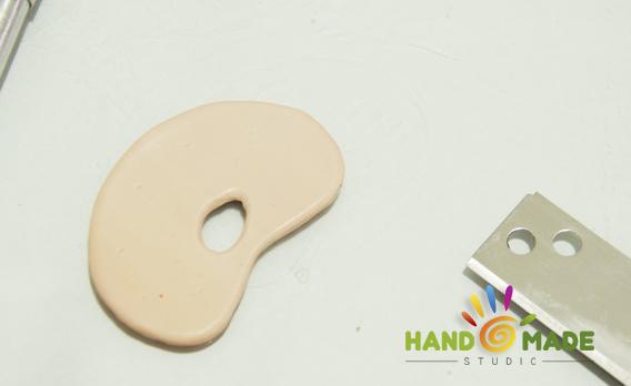 Палитра из полимерной глины
