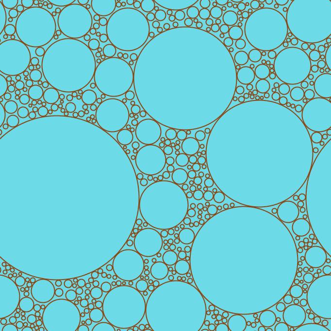 background-image-circles-bubbles-sponge-soap-seamless-tileable-saddle-brown-turquoise-blue-238s92