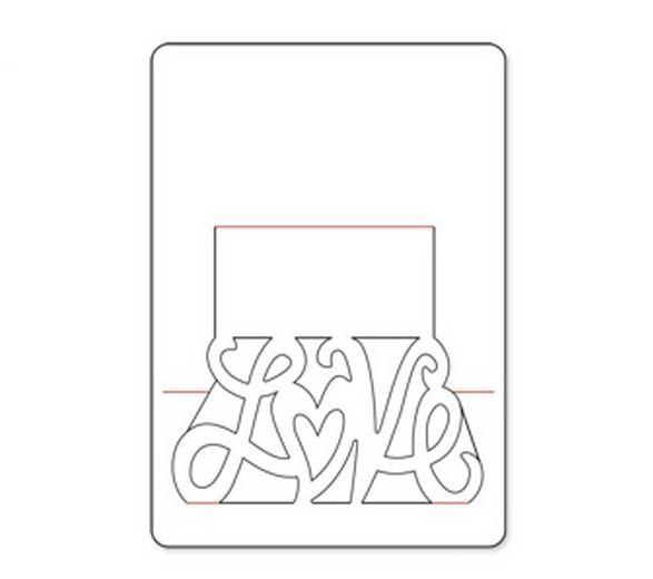Годовщины свадьбы, как сделать объемную открытку на день рождения схемы