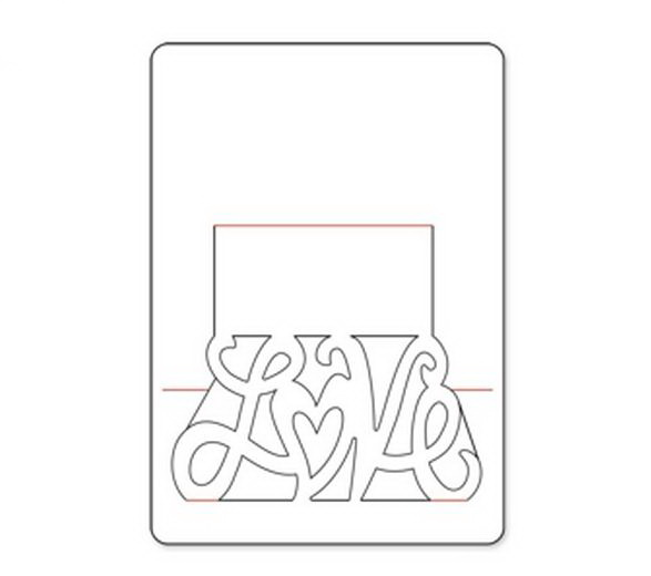 Макеты открыток объемных, семья