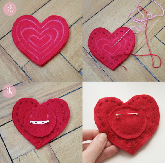 heart pin brooch labeled2-2