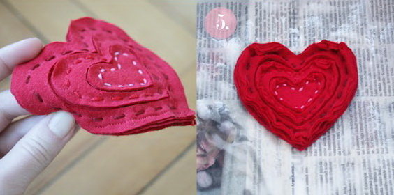 heart pin brooch labeled2-4