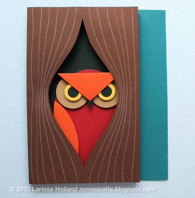 Поделки совы своими руками из бумаги