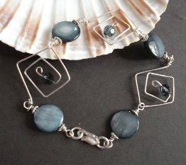 small sterling silver spiral bracelet 4
