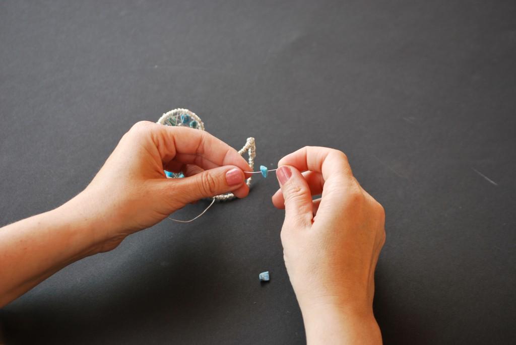 Как сделать браслет из браслета основы