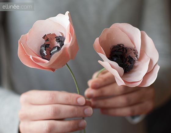 Анемоны своими руками из ткани