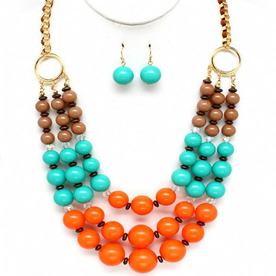 angelias-brown-turquoise-coral-orange-beaded-layered-necklace-set
