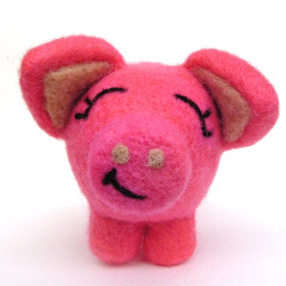 свинка из шерсти10