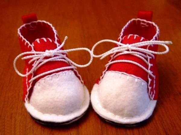 фетровые ботиночки9