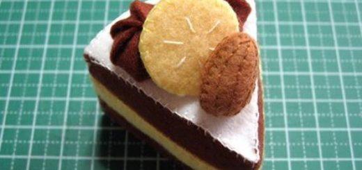 фетровый торт