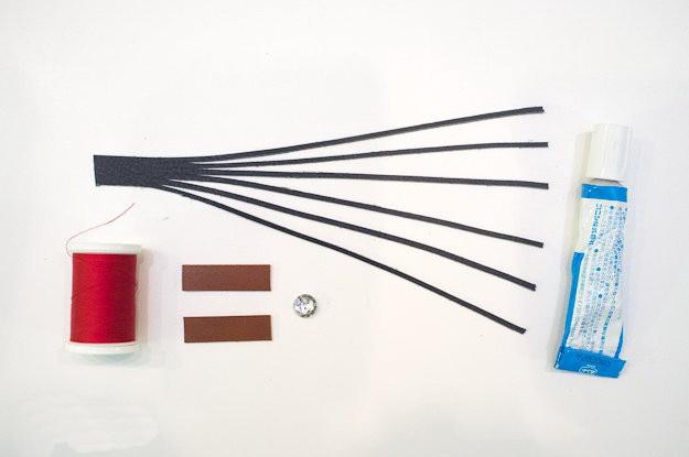 Схема плетения браслета.