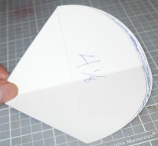 Как сделать круглую открытку трансформер