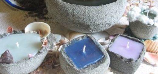 песочные свечи