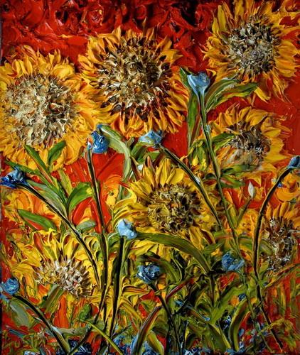 sunflower-in-red-justin-gaffrey