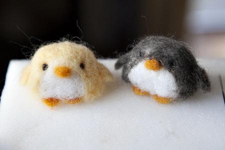 пингвин из шерсти20_новый размер